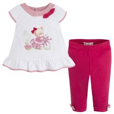 T-shirt leggings set Reds - Mayoral
