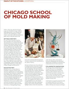 Chicago School Of Mold Making -Advertorial