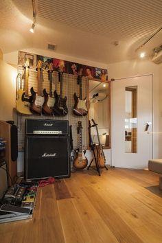 趣味の音楽のための完全防音室。