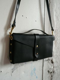 black on black clutch #fluxproductions these are the independent designer product made in NYC right now!  Love love love.
