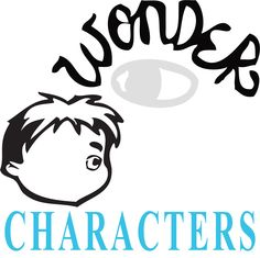 WONDER by R.J. Palacio Characters Organizer  NOVEL = Wonder by R.J. Palacio LEVEL = 5-12 COMMON CORE = CCSS.ELA-Literacy.RL.3  Middle and highschoo...
