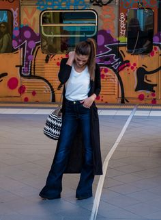 The 'hey, I'm taller' looks :) Trousers, Pants, Get The Look, Bell Bottoms, Blue Denim, Bell Bottom Jeans, Friday, My Style, Fashion