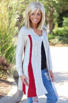 Our Stripes of Perfection Beige & Burgundy Cardigan is made of Ramie and Cotton and measures approximately long from shoulder to hem. This cardigan is available in sizes Small, Medium, and Large.One Faith Boutique is a women's trendy clothing bouti Haircuts For Medium Hair, Oval Face Hairstyles, Hairstyles With Bangs, Hairstyles Men, Hair Styles 2016, Medium Hair Styles, Short Hair Styles, Hair Medium, Medium Curly