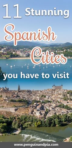 Spain is full of beautiful cities. Whether you're looking for stunning beaches, architecture or delicious food - these cities have no shortage. Perfect inspiration for you next trip to Spain.   Spain Travel | Spain Places to visit | Barcelona | Madrid | Bilbao | Seville | Granada | Salamanca | Valencia | San Sebastian #spaintravel