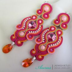 Aurus - Soutache earrings