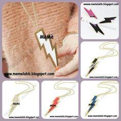L'accessorio del momento... I fulmini www.memelabb.blogspot.com