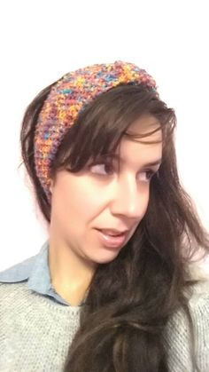 Handmade girly ear warmer headband, perfect for winter! acrylic one size (flexible) Ear Warmer Headband, Ear Warmers, My Etsy Shop, Girly, Colorful, Hats, Check, Free, Fashion