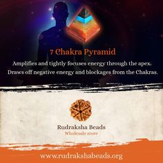 Did you know that the triangular sides of a pyramid represent mind, body and soul while the four phases represent four elements of nature? #RudrakshaBeads #Spirituality
