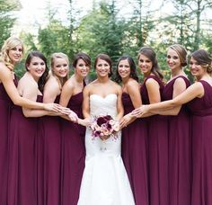 Bill Levkoff wine bridesmaids