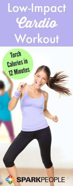 A low-impact cardio workout that's actually fun!   via @SparkPeople #fitness #exercise #video