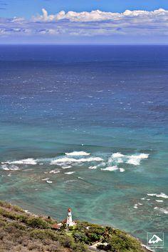 Diamond Head Lighthouse - Honolulu, Oahu, Hawaii.