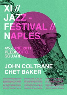 jazz festival poster - Google Search