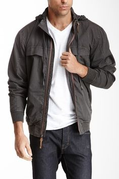 Dylan Zip Front Jacket