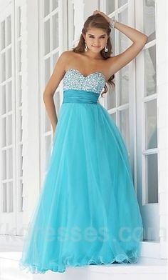 Chiffon A-Line Natural Long Evening Dresses ykdress4506