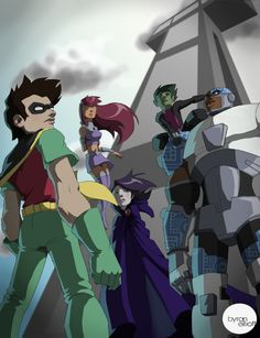 Teen Titans GO by ~byronelliott88 on deviantART