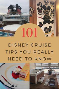 101 Disney Cruise Tips You Really Need