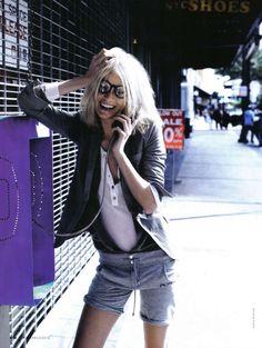 Urban Geek Fashion : Urban Fashion, Caroline Winberg, David Burton, Elle Italia