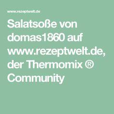 Salatsoße von domas1860 auf www.rezeptwelt.de, der Thermomix ® Community