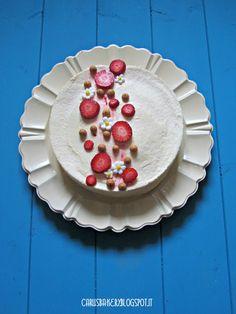 Caru's Bakery - Torta mousse limone e fragola