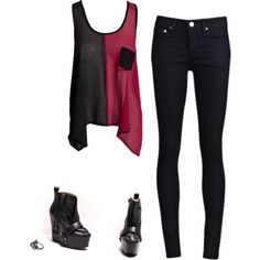 Cute Harley Quinn-style Emo Outfits, Casual Outfits, Cute Outfits, Fashion Outfits, Womens Fashion, Character Inspired Outfits, Batman, Harley Quinn Cosplay, Casual Cosplay