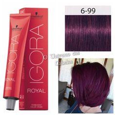 As Cores Do Momento Cabelo Vermelho Vinho Vermelho Violeta E