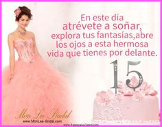 frases-para-tarjetas-de-15-anos-de-los-padres Vertical Garden Design, Quinceanera Cakes, Happy B Day, 15th Birthday, Niece And Nephew, Happy Birthday Wishes, Lets Celebrate, Party Time, Birthdays