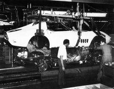 C3 Corvette Production in St. Louis