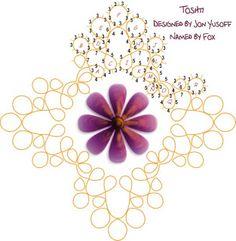 Tat-a-Renda: Toshti - tatting with doodad