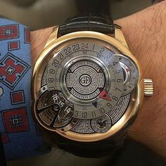 """Greubel Forsey """"Invention piece 3"""" #tourbillon in rose gold  