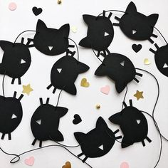 Excited to share the latest addition to my shop: Cat Paper Garland Black Cat Birthday Party Decorations Bachelorette Party Decoration Kitten Birthday Garland Meow Birthday Banner Girls Room Bachelorette Party Decorations, Birthday Party Decorations, Bachelorette Banner, Bachelorette Parties, Paper Party Decorations, Cat Themed Parties, Kitty Party Themes, Birthday Garland, Birthday Banners