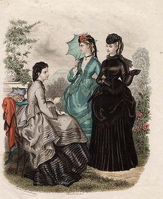 LaMode Illustree' 1870's