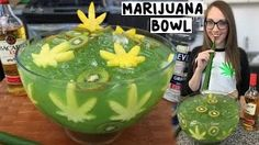Celebrate this 420 with our super potent MARIJUANA JUNGLE JUICE BOWL with Banana Leaf Straws! OUTTAKES: