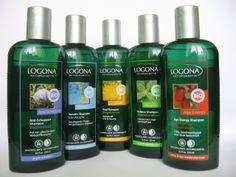 Naturalne szampony do włosów LOGONA.