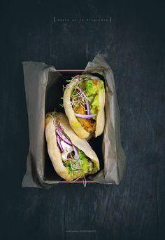 Vegan Soy & Quinoa Falafel with Guacamole Recipe (serve in gluten-free pita bread)