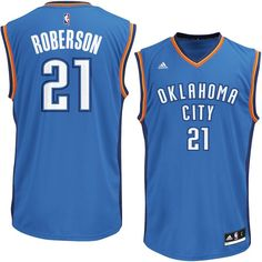 d0d99d36d Andre Roberson Oklahoma City Thunder adidas Replica Jersey - Royal Andre  Roberson
