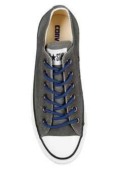 CONVERSE Chuck Taylor All Star Ox Suede charcoal