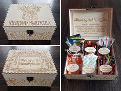 Impreza, Diy And Crafts, Decorative Boxes, Presents, Teacher, Education, Gifts, Vintage, Ideas