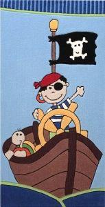 Dětské koberce Pirát Sam malý, 70x140(90x 160), 3612Kc