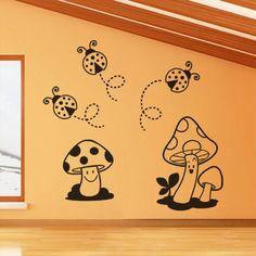 Setas y mariquitas:  http://www.decomura.es/vinilos-infantiles-vinilos-de-corte/setas-y-mariquitas-476#/superficie-7000