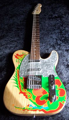 The Guitar Refinishing and Restoration Forum :: View topic - Latest Build - A Jimmy Page Inspired Telecaster