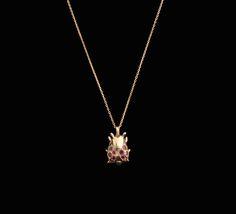#rosegold #ladybug #rubies #pendant