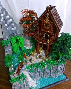 Elvin Manor: A LEGO® creation by Regenerate . : MOCpages.com