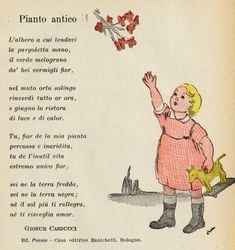 Vintage Children's Books, Vintage Cards, Vintage Posters, Learn To Speak Italian, Italian Lessons, Renz, Italian Language, Learning Italian, Reading Material