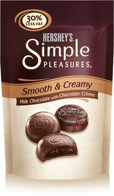 6 of these....Hershey's Simple Pleasures Chocolate Candies - 5 weight watchers Points+ - LaaLoosh