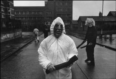 The diddy men with the rubber hoses that they used during the riots in Northern Ireland by Gilles Peress ca. Trust Words, Camera Obscura, Gelatin Silver Print, French Photographers, Artist Life, Political Science, Magnum Photos, Documentary Photography, The New Yorker