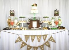 Wedding dessert table @ Taronga Zoo. Styled by mon tresor & desserts by couture cupcakes + cookies