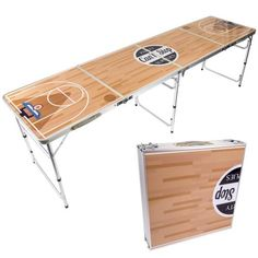 Beer Pong Table Portable Basketball Drinking Games For Adults Pong Game, Basketball Design, Beer Pong Tables, Drinking Games, Adult Games, Best Beer, New Room, Drafting Desk, In The Heights
