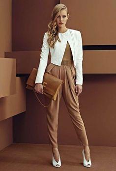 Trajes de fiesta de pantalón para mujer: fotos de los modelos - Look Elisabetta Franchi