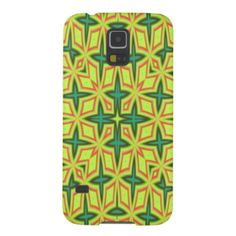 A abstract pattern with different shapes and color. You have green star shapes and red square shapes with yellow and green square shape inside. You can also customize it to get a more personal look. Abstract Pattern, Abstract Art, Samsung Galaxy Cases, Star Shape, Different Shapes, Create Your Own, Phone Cases, Colorful, Yellow