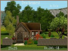 Dragon Nest residential house at Akisima - Sims 3 Finds